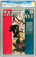 Silver Age (1956-1969):War, Our Army at War #137 (DC, 1963) CGC VF/NM 9.0 White pages....
