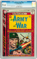 Silver Age (1956-1969):War, Our Army at War #148 (DC, 1964) CGC NM+ 9.6 Off-white to white pages....
