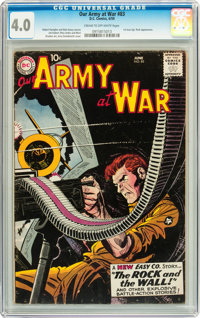 Our Army at War #83 (DC, 1959) CGC VG 4.0 Cream to off-white pages