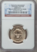 Presidential Dollars, 2009-D $1 Zachary Taylor First Day of Issue MS65 NGC. PCGSPopulation (83/411). (#409728)...
