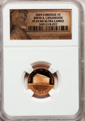 Proof Lincoln Cents, 2009-S 1C Bronze Early Childhood PR69 Red Ultra Cameo NGC. NGC Census: (11726/1875). PCGS Population (3995/313). Numismedi...