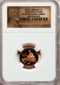 Proof Lincoln Cents, 2009-S 1C Bronze Formative Years PR69 Red Ultra Cameo NGC. NGCCensus: (11796/1671). PCGS Population (4244/272). Numismedi...