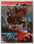 "Original Comic Art:Panel Pages, Simon Bisley 2000 AD Program #693 ""Slaine: The Horned GodBook III"" Page 20 Original Art (Fleetway, 1990)...."