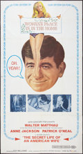 """Movie Posters:Comedy, The Secret Life of an American Wife (20th Century Fox, 1968). Three Sheet (41"""" X 76.5""""). Comedy.. ..."""
