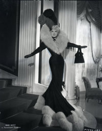 """Mae West in Every Day's A Holiday (Paramount, 1937). Eastman Kodak Nitrate Negative (7.75"""" X 9.75""""). Comedy..."""