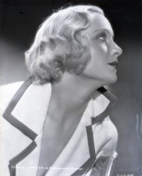 """Carole Lombard (Paramount, 1930s). Nitrate Negative (7.75"""" X 9""""). Miscellaneous"""