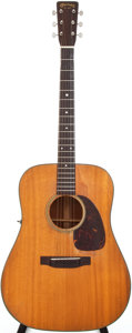 Musical Instruments:Acoustic Guitars, 1955 Martin D-18 Natural Acoustic Guitar, Serial # 145738....