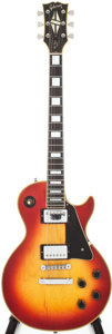 Musical Instruments:Electric Guitars, 1972 Gibson Les Paul Custom Cherry Sunburst Electric Guitar, Serial# 770440....