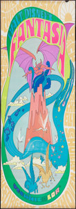 "Movie Posters:Animation, Fantasia (Buena Vista, R-1970). Door Panels (2) (20"" X 60"").Animation.. ... (Total: 2 Items)"