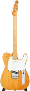 Musical Instruments:Electric Guitars, 1975 Fender Telecaster Blonde Electric Guitar, Serial # 648191....