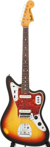 Musical Instruments:Electric Guitars, 1965 Fender Jaguar Sunburst Electric Guitar, Serial # 113956....