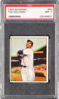 Baseball Cards:Singles (1950-1959), 1950 Bowman Ted Williams #98 PSA NM 7....