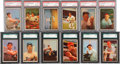 Baseball Cards:Sets, 1953 Bowman Color Near Set (145/160). ...
