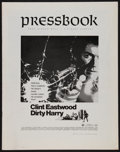 "Movie Posters:Crime, Dirty Harry (Warner Brothers, 1971). Uncut Pressbook (14 Pages, 11""X 14""). Crime.. ..."
