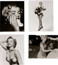 Movie/TV Memorabilia:Photos, A Marilyn Monroe Set of Limited Edition Black and White Photographs by Bernard of Hollywood, Circa 1990s-2000s....
