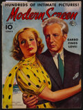 """Movie Posters:Miscellaneous, Modern Screen (Dell Publishing, June 1938). Magazine (116 Pages,8.5"""" X 11.5""""). Miscellaneous.. ..."""