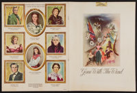 "Gone with the Wind (MGM, 1939). Souvenir Program (Multiple Pages, 9"" X 12"") Southern Edition. Academy Award Wi..."