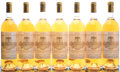 White Bordeaux, Chateau Filhot 1986 . Sauternes. 2bn, 7lbsl, 3ssos. Bottle(7). ... (Total: 7 Btls. )