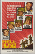 "Movie Posters:War, Hell Is for Heroes (Paramount, 1962). One Sheet (27"" X 41""). War....."