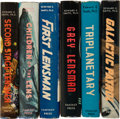 Books:Science Fiction & Fantasy, Edward E. Smith, Ph.D. Six Fantasy Press First Editions of theLensman Series, Five of the Six Signed, Limited Editions In...(Total: 6 Items)