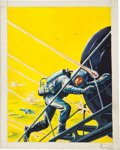 Original Comic Art:Miscellaneous, Emsh (Edward Emshwiller) Sci-Fi Cover Preliminary Original Art(undated)....