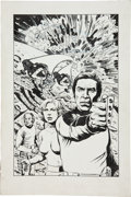 Original Comic Art:Covers, David Day and Dan Day Space: 1999 Illustration Original Art(1986)....