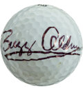 Golf Collectibles:Autographs, Buzz Aldrin Signed Golf Ball....
