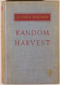 Books:Fiction, James Hilton. SIGNED. Random Harvest. Boston: Little, Brownand Company, 1941. First edition. Signed by the au...