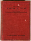 Books:Americana & American History, Herbert Eugene Bolton and Eugene C. Barker. With the Makers ofTexas. A Source Reader in Texas History. Austin: ...