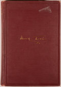 Books:Biography & Memoir, Mark Twain. Mark Twain's Autobiography, Volume I. New York: P. F. Collier and Son, 1924. Octavo. 368 pages. Publ...
