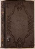 Books:Americana & American History, Lewis H. Morgan. League of the Ho-De'-No-Sau-Nee, orIroquois. Rochester: Sage & Brother, 1851. First edition.O...