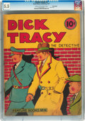 Platinum Age (1897-1937):Miscellaneous, Feature Books #4 Dick Tracy - Billy Wright pedigree (David McKay Publications, 1937) CGC FN- 5.5 Cream to off-white pages....