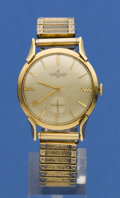 Timepieces:Wristwatch, Ulysse Nardin 14k Gold Wristwatch. ...