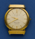 Timepieces:Wristwatch, Mathey Tissot 18k Gold Automatic With Power Reserve Indicator. ...