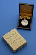 Timepieces:Pocket (post 1900), Howard 17 Jewel 12 Size With Box. ...