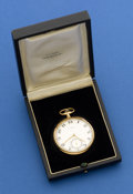 Timepieces:Pocket (post 1900), Longines 14k Private Label Pocket Watch. ...