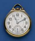 Timepieces:Pocket (post 1900), Elgin Gold Flash Finish B.W. Raymond. ...