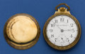 Timepieces:Pocket (post 1900), Hampden 18 Size Two Tone Special Railway. ...