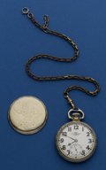 Timepieces:Pocket (post 1900), Ball 21 Jewel Official Standard. ...