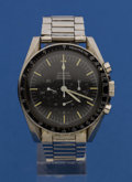 Timepieces:Wristwatch, Omega 105012-66 Speedmaster Professional For Restoration. ...