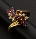 Estate Jewelry:Rings, Ruby & Diamond Ring. ...