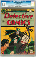 Golden Age (1938-1955):Superhero, Detective Comics #80 Billy Wright pedigree (DC, 1943) CGC VF+ 8.5 Off-white to white pages....