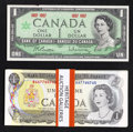 Canadian Currency: , BC-45a $1 1967. BC-46a $1 1973 12 Examples. BC-46b $1 1973 15Examples. ... (Total: 28 notes)