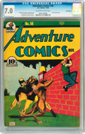 Golden Age (1938-1955):Superhero, Adventure Comics #56 Billy Wright pedigree (DC, 1940) CGC FN/VF 7.0 Off-white to white pages....
