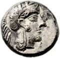 Ancients:Judaea, Ancients: Gaza (Ca. 445-410 BC). AR quarter-shekel (13mm, 3.17 gm,7h). ...