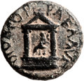 Ancients:Judaea, Ancients: Agrippa II (49/50 - 94/95 AD). Pre-Royal series. Mint ofCaesarea Paneas. AE (20mm, 5.08 gm, 12h)....
