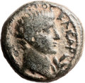 Ancients:Judaea, Ancients: Herod Philip (4 BC - 34 AD). Mint of Paneas. AE (19mm,6.47 gm, 12h)....