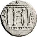 Ancients:Judaea, Ancients: Bar Kokhba Revolt (132 - 135 AD). AR sela (13.98 gm,1h)....