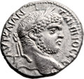 Ancients:Judaea, Ancients: Cyprus. Caracalla (198 - 217 AD). AR billon tetradrachm(26mm, 12.62 gm, 12h). ...
