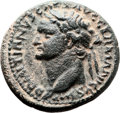 Ancients:Judaea, Ancients: Domitian (AD 81 - 96). AE (25mm, 10.46 gm, 12h). ...